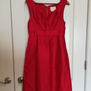 Kate Spade Red Silk Dress